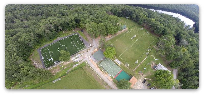 Drone Soccer Fields